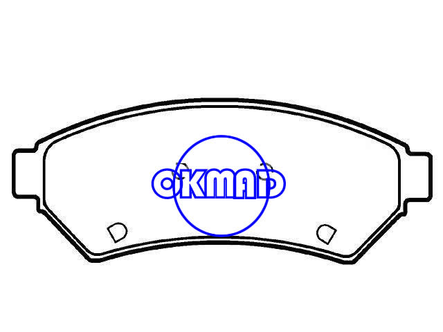 BUICK (SGM) LACROSSE II GL8 II MPV LACROSSE CHEVROLET UPLANDER plaquette de frein FMSI:D1075-7980 OEM:88964099,F1075